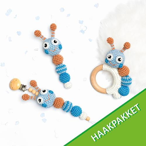 Rups Baby Accessoires Haakpakket - Blauw