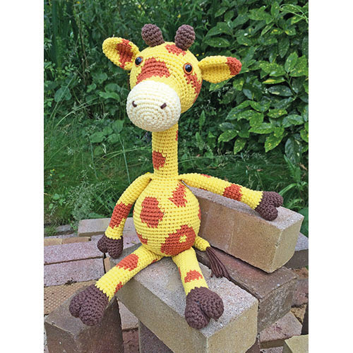 Jack Langnek - Giraffe Haakpatroon